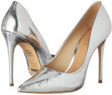 SchutzWomen Shoes - Scarpe con Tacco Donna , argento (Silber (Prata)), 39