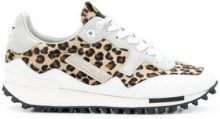 Golden Goose Deluxe Brand - Sneakers 'Starland' - women - Cotton/Leather/Calf Hair/rubber - 36, 37, 39, 35, 38, 40, 41 - BROWN