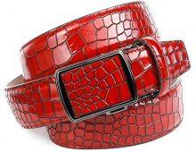 Anthoni Crown 33K60, Cintura Uomo, (Rot 060), 90