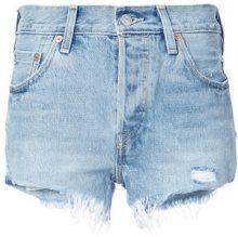 Levi's - 501 denim shorts - women - Cotone - 28 - BLUE