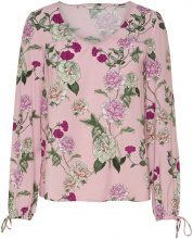 ONLY Printed Long Sleeved Top Women Pink