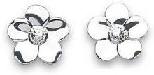 Adara fiori in argento Sterling orecchini