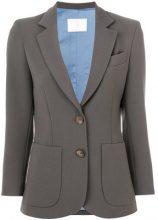 Société Anonyme - Blazer avvitato 'C' - women - Wool - 42, 46 - BROWN
