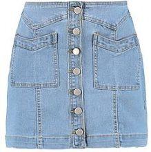Giubbotto di jeans con bottoni e doppia tasca Julie