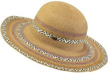Barts Adios Hat Cappello da Sole, Donna, Multicolore, One Size