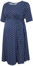 MAMA.LICIOUS Pattern Detailed Maternity Dress Women Blue