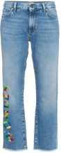 Mira Mikati - Jeans crop 'Wonder' - women - Cotone/Polyester - 34, 36, 38, 40, 42 - BLUE