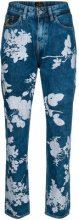 Vivienne Westwood Anglomania - floral print jeans - women - Cotton - 26, 27, 28, 29, 30 - BLUE
