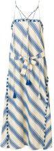 Dodo Bar Or - Vestito lungo a righe - women - Cotton - S, M, L - NUDE & NEUTRALS