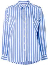 Aspesi - Camicia a righe - women - Cotone - 38 - BLUE