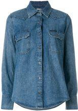 - Calvin Klein Jeans - Camicia in denim - women - cotone - XS - di colore blu