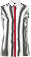 Guild Prime - Camicia a righe - women - Polyester - 34, 36 - Blu