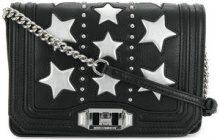Rebecca Minkoff - star embossed shoulder bag - women - Leather - OS - Nero