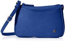 TOM TAILOR DenimCilia - Borsa a spalla Donna , blu (blu (blu)), Taglia unica