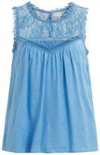 VILA Lace Sleeveless Top Women Blue