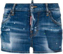 Dsquared2 - Shorts denim - women - Cotone/Spandex/Elastane/Polyester - 36, 38, 40, 42, 44 - Blu