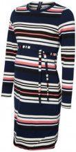 MAMA.LICIOUS Striped Maternity Dress Women Blue