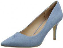 New Look Symbolic, Scarpe Col Tacco Punta Chiusa Donna, Blue (Light Blue 45), 37 EU