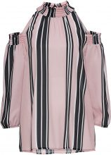 Blusa con spalle scoperte (rosa) - BODYFLIRT