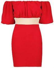 Layla Off the Shoulder Puff Sleeve Mini Dress