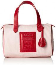 Timberland TB0M2757, Borsa a spalla Donna, Rosso (RED), 16x20x30 cm (W x H x L)