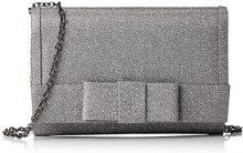 MENBUR MenburRodgersia - Pochette Donna, Grigio (Grau (Silbergrau 92)), 21x15x5 cm (B x H x T)