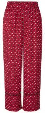 Y.A.S Wide Trousers Women Red
