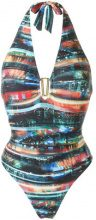 Lygia & Nanny - halter neck swimsuit - women - Polyamide/Spandex/Elastane - 40 - MULTICOLOUR