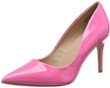 New Look Knocked, Scarpe Col Tacco Punta Chiusa Donna, Pink (Bright Pink 76), 41 EU