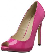Pleaser Sexy-42, Scarpe Col Tacco Donna, Pink (Pink (H. Pink Pat)), 39