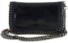 Borsa a tracolla Dream Leather Bags Made In Italy  Borsa Donna A Tracolla In Vera Pelle Colore Blu Scuro - Pellette