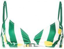 Solid & Striped - Top bikini 'The Brigitte' - women - Polyester/Spandex/Elastane/Polyamide - L - Verde