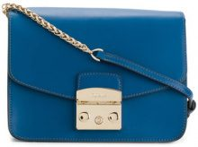 Furla - Metropolis bag - women - Leather/metal - OS - BLUE