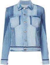 - Frame Denim - Giacca di jeans con taschino sul petto - women - Cotone - S, M - Blu
