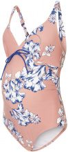 MAMA.LICIOUS Flower Printed Maternity Swimwear Women Red