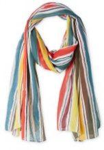 Foulard a righe multicolore