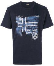 Napapijri - T-shirt con stampa grafica - men - Cotton - M, XL, XXL, XXXL - BLUE