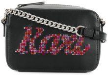 - Karl Lagerfeld - Borsa 'Yoni Alter Karl' - women - Leather - Taglia Unica - Nero