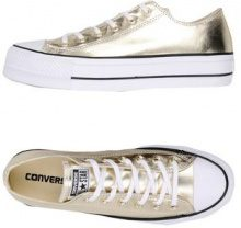 CONVERSE ALL STAR CTAS OX LIFT CLEAN METALLIC CANVAS - CALZATURE - Sneakers & Tennis shoes basse - su YOOX.com