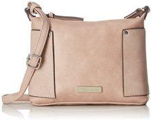 Tamaris Edna Crossbody Bag S - Borse a tracolla Donna, Pink (Rose Comb.), 19x6x24 cm (B x H T)
