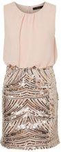 VERO MODA Sequined Sleeveless Dress Women Pink