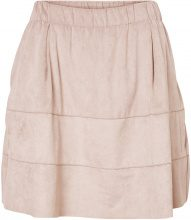 NOISY MAY Faux Suede Skirt Women Pink