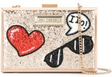 Love Moschino - Clutch glitter - women - Sequin/Polyurethane - OS - METALLIC
