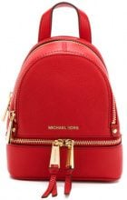 Michael Michael Kors - mini Rhea backpack - women - Leather - OS - RED