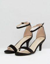 Glamorous - Kitten - Sandali effetto nudo con tacco - Nero