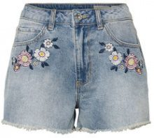 VERO MODA Hw Denim Shorts Women Blue