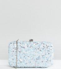 Maya - Pochette con paillettes - Blu