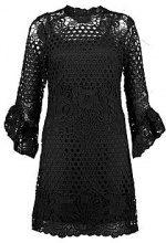 Tara Frill Sleeve Lace Bodycon Dress
