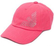 Ea7 Emporio Armani - micro stud logo cap - women - Cotton - OS - PINK & PURPLE