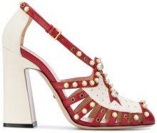Gucci - Pumps borchiate - women - Leather - 36, 37, 38, 39, 35 - RED